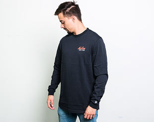 Triko New Era Branded Long Sleeve Navy