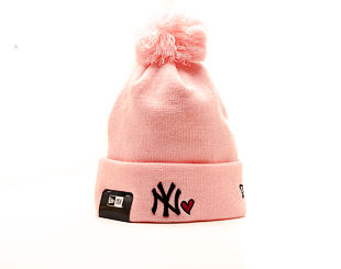 Kulich New Era Heart Knit New York Yankees Pink