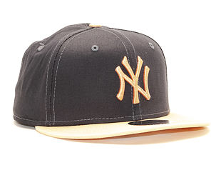 Kšiltovka New Era 9FIFTY New York Yankees League Essential Grey Heather/Peach