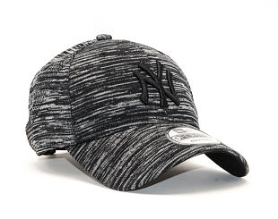 Kšiltovka New Era 9FORTY New York Yankees Engineered Fit Black/Gray/Grey Heather