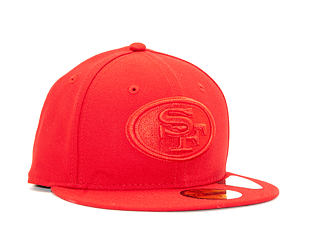 Kšiltovka New Era 59FIFTY San Francisco 49ers Tonal Red