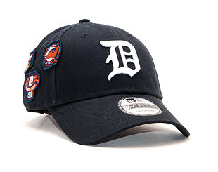 Kšiltovka New Era 9FORTY Detroit Tigers Cooperstown Patched Navy