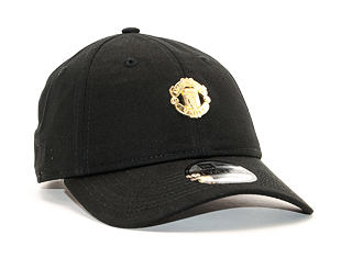 Kšiltovka New Era 9TWENTY Mini Crest Manchester United FC Black Strapback
