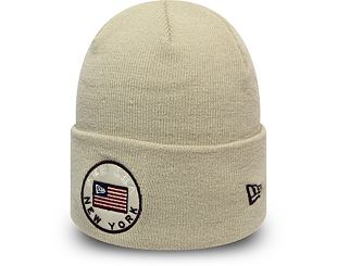 Kulich New Era Flagged Out Cuff Knit Stone