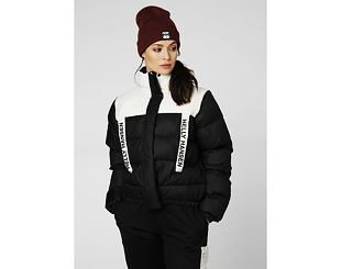 Dámská Bunda Helly Hansen P&C Puffer Jacket 990 Black