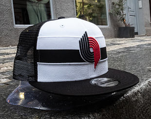 Kšiltovka New Era 9FIFTY Portland Trail Blazers Stripe Hardwood OTC