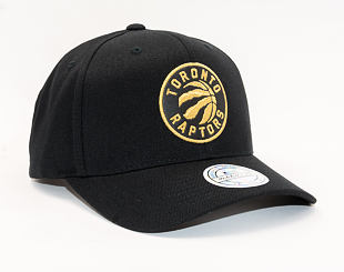 Kšiltovka Mitchell & Ness Toronto Raptors Bullion Black/Gold