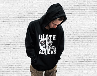 Mikina Mishka Head Injury Hoodie Black