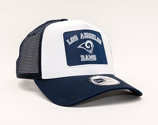 Kšiltovka New Era 9FORTY A-FRAME Trucker NFL Graphic Patch Los Angeles Rams Team Color