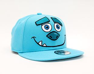 Dětská Kšiltovka New Era 9FIFTY Kids Monster Inc Head 9FIFTY Monsters Inc Neon Blue