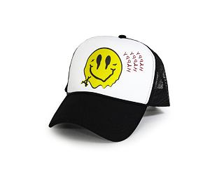 Kšiltovka Alumni Smiley Foam Trucker White/Black