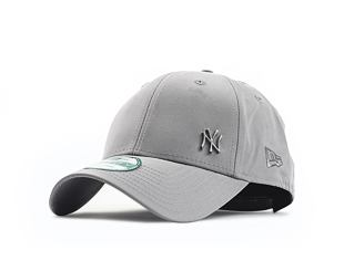 Kšiltovka NEW ERA 9FORTY Flawless Logo New York Yankees Strapback Gray