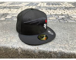 Kšiltovka New Era 59FIFTY NFL Elements 2.0 New England Patriots Black