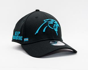 Kšiltovka New Era 39THIRTY NFL20 Sideline Home Carolina Panthers Stretch Fit Team Color