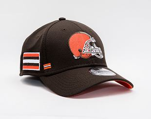 Kšiltovka New Era 39THIRTY NFL20 Sideline Home Cleveland Browns Stretch Fit ALT / Team Color