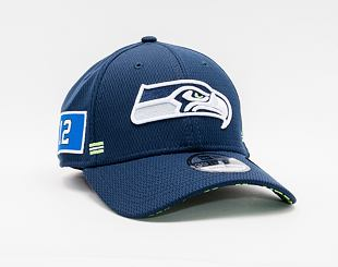 Kšiltovka New Era 39THIRTY NFL20 Sideline Home Seattle Seahawks Stretch Fit Team Color