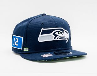Kšiltovka New Era 9FIFTY NFL20 Sideline Home Seattle Seahawks Snapback Team Color