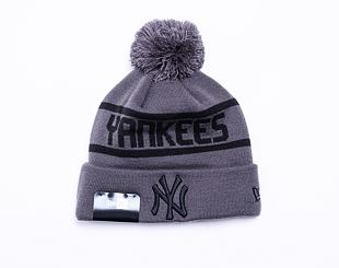 Kulich New Era MLB Team Jake Bobble Cuff Knit New York Yankees Graphite