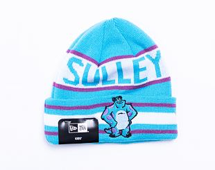 Dětský kulich New Era Kids Disney Character Knit Monsters Inc Neon Blue