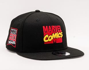 Kšiltovka NEW ERA 9FIFTY 80th Marvel Comics RETRO Black