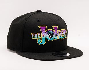Kšiltovka NEW ERA 9FIFTY The Joker Wordmark Black