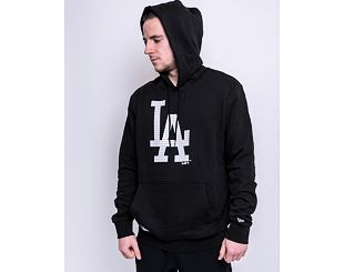 Mikina New Era Infill Logo Hoody Los Angeles Dodgers Black / Optic White