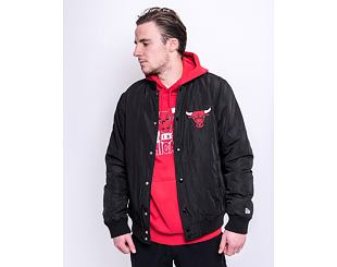 Bunda New Era Team Logo Jacket Chicago Bulls Black