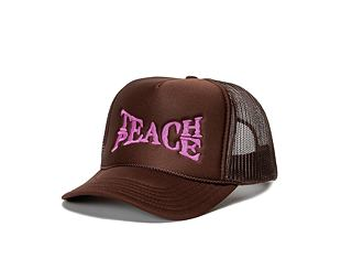 Kšiltovka Pink Dolphin TEACH PEACE HAT OH2206TPBR BROWN