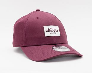 Kšiltovka New Era 9FORTY Color Essential  Strapback Maroon / Optic White
