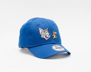 Kšiltovka New Era 9FORTY Kids Infant film Character Tom & Jerry Strapback Blue Azure