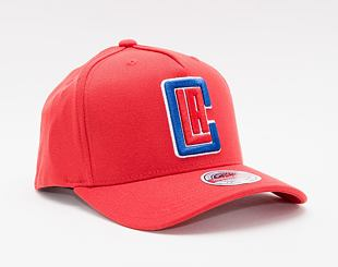 Kšiltovka Mitchell & Ness Los Angeles Clippers Solid Redline Dropback Red