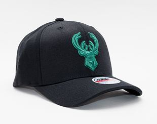 Kšiltovka Mitchell & Ness Milwaukee Bucks Redline Duotone Black/Green