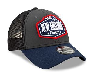 Kšiltovka New Era 9FORTY NFL 21 Draft New England Patriots Snapback Heather Grey / Team