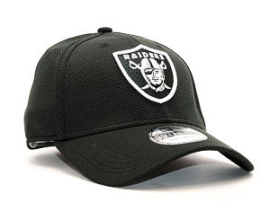 Kšiltovka New Era Sideline Oakland Raiders Black 39THIRTY Stretchfit