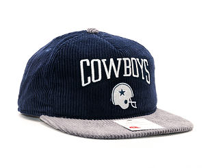 Kšiltovka New Era Heritage Cord Snap Dallas Cowboys 9FIFTY Navy/Grey Snapback