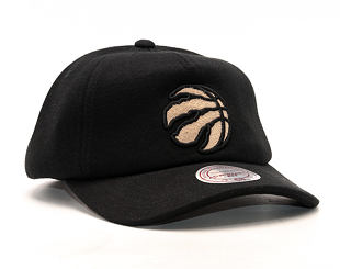 Kšiltovka Mitchell & Ness Throwback Toronto Raptors Black Snapback
