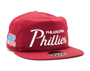 Kšiltovka New Era Throwback Philadelphia Phillies 9FIFTY Official Team Colors Snapback