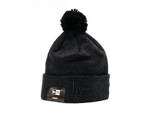 Dámský Kulich New Era Essential Bobble Knit Los Angeles Dodgers Black
