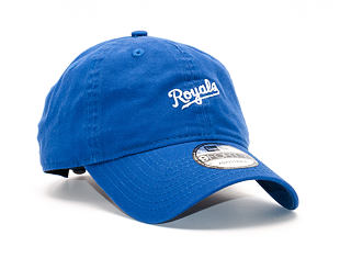 Kšiltovka New Era Mini Wordmark Kansas City Royals 9FORTY Light Royal Strapback