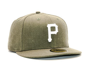 Kšiltovka New Era Seasonal Heather Pittsburgh Pirates 59FIFTY Heather Army/White