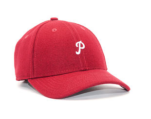 Kšiltovka New Era Mini Melton Philadelphia Phillies 9FORTY Cardinal/White Strapback