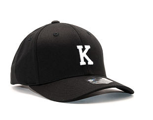 Kšiltovka State of WOW Kilo SC9201-990K Baseball Cap Crown 2 Black/White Strapback