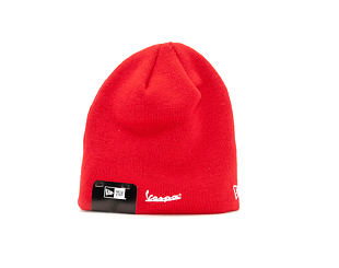 Kulich New Era FA 18 Essential Skull Knit Vespa Scarlett/White