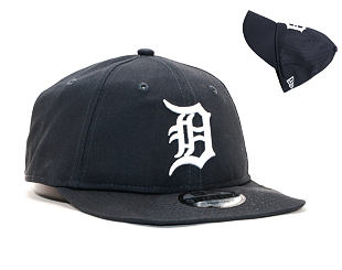 Kšiltovka New Era 9TWENTY Detroit Tigers Essential Packable Navy/White Strapback
