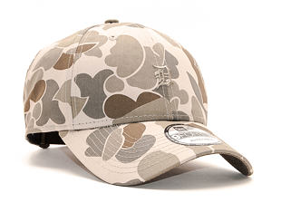 Kšiltovka New Era 9FORTY Detroit Tigers Light Green Camo/Olive Strapback