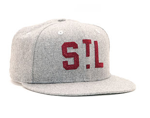 Kšiltovka New Era 9FIFTY Original Fit St. Louis Cardinals Coop Gray Snapback