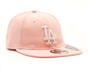 Kšiltovka New Era 9TWENTY Los Angeles Dodgers Packable Pink/White Strapback