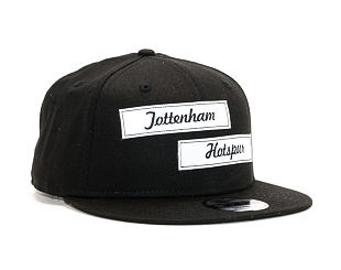 Kšiltovka New Era 9FIFTY Tottenham Hotspur FC Dual Patch Snap Black Snapback