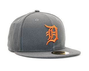 Kšiltovka New Era 59FIFTY The League Essential Detroit Tigers Gray / Rust Fitted