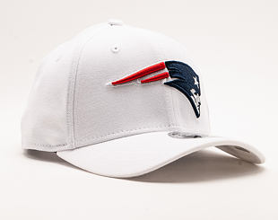 Kšiltovka New Era 9FIFTY White Base Stretch Snap New England Patriots White / Team Color Snapback